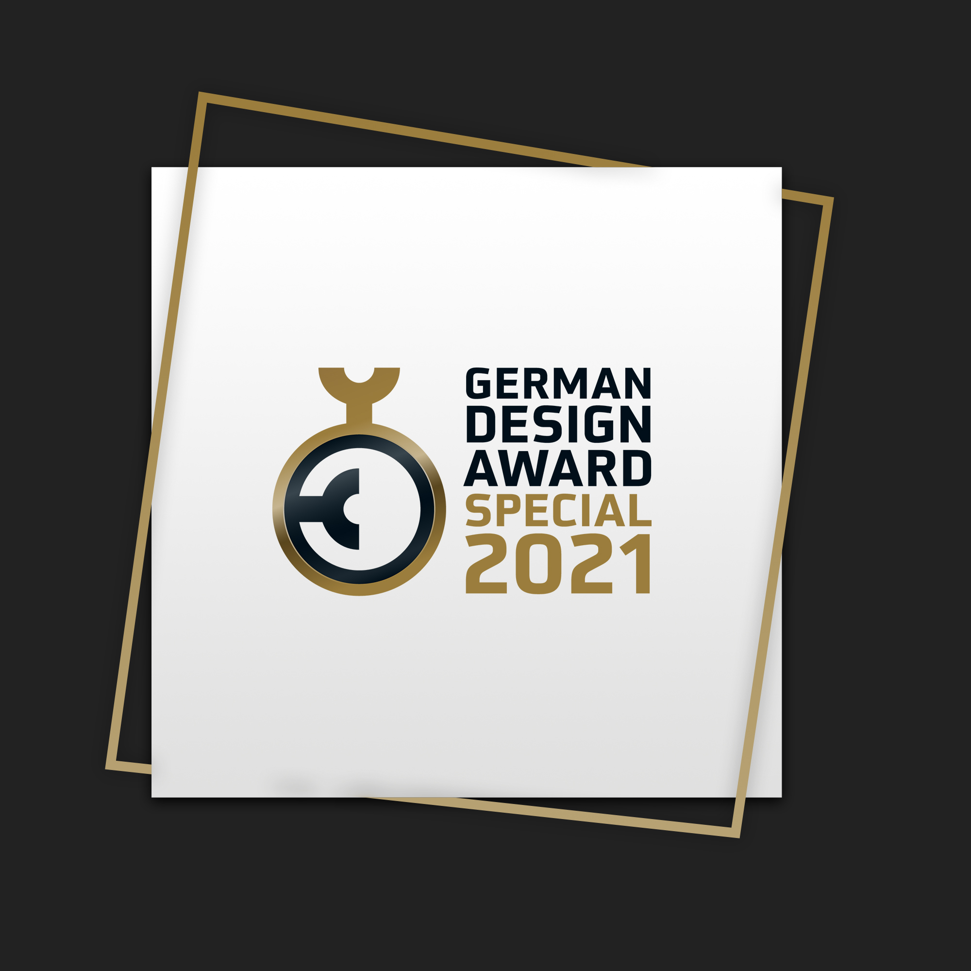 SYMBIOTICON GEWINNT GERMAN DESIGN AWARD 2021